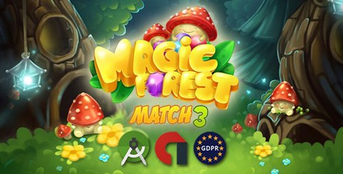 CodeCanyon - Magic Forest - match3 (Update: 5 September 20) - 25667443
