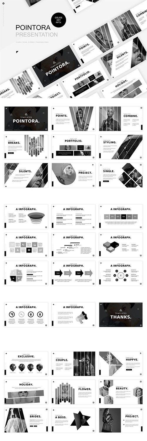 Pointora Presentation Template