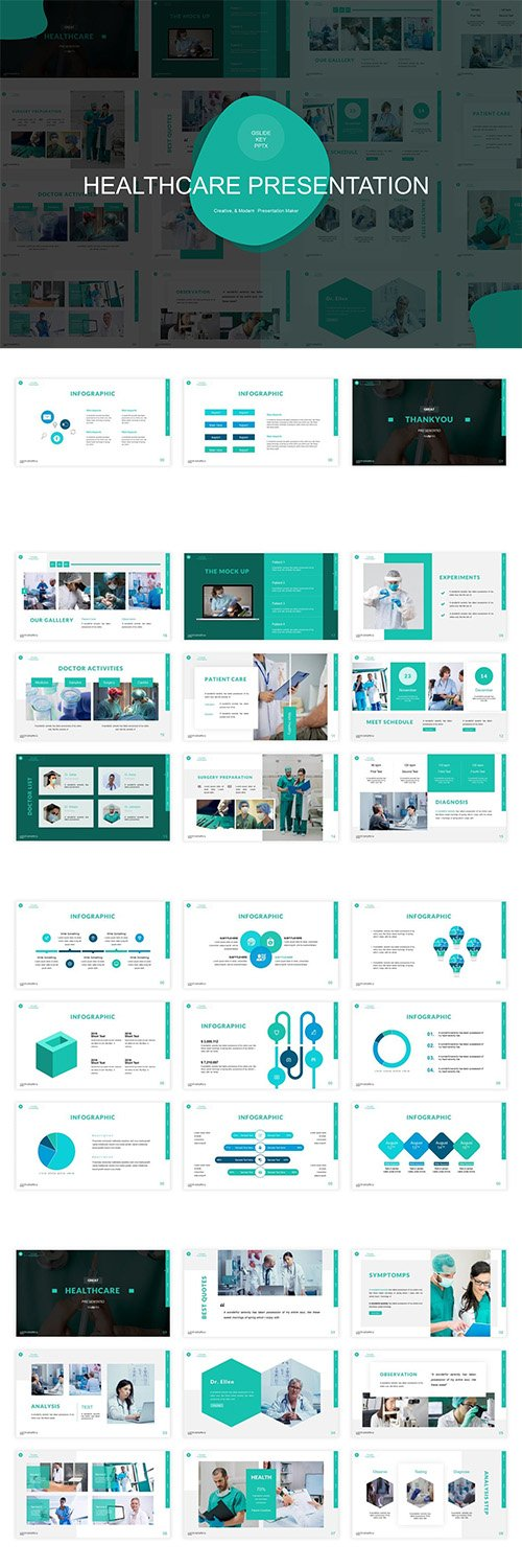 Healthcare Presentation Template