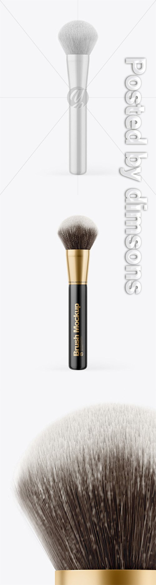 Glossy Powder Brush Mockup 66394 TIF