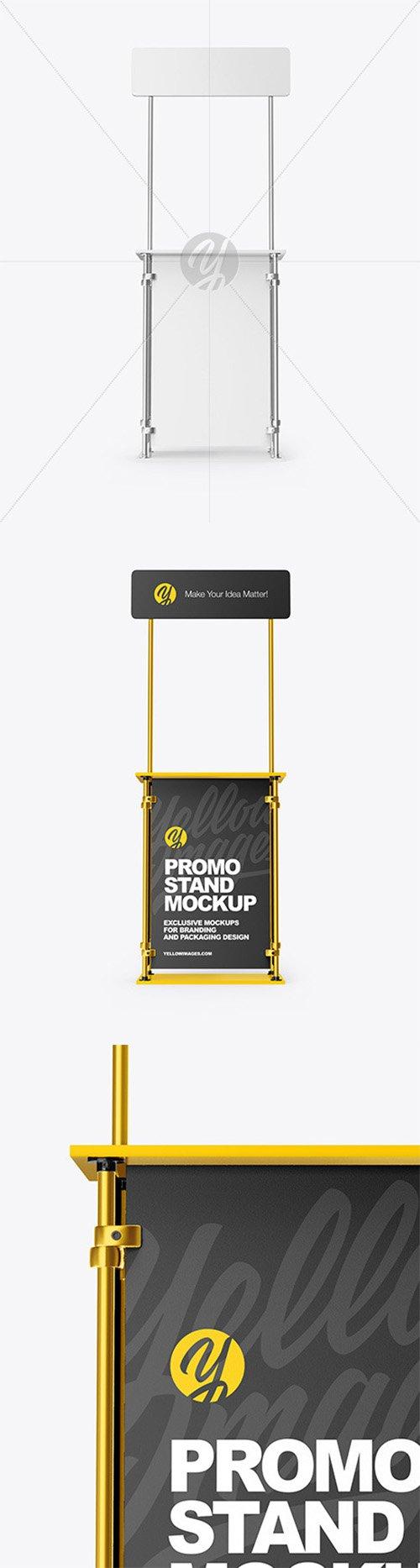 Metallic Promo Stand Mockup 63596 TIF