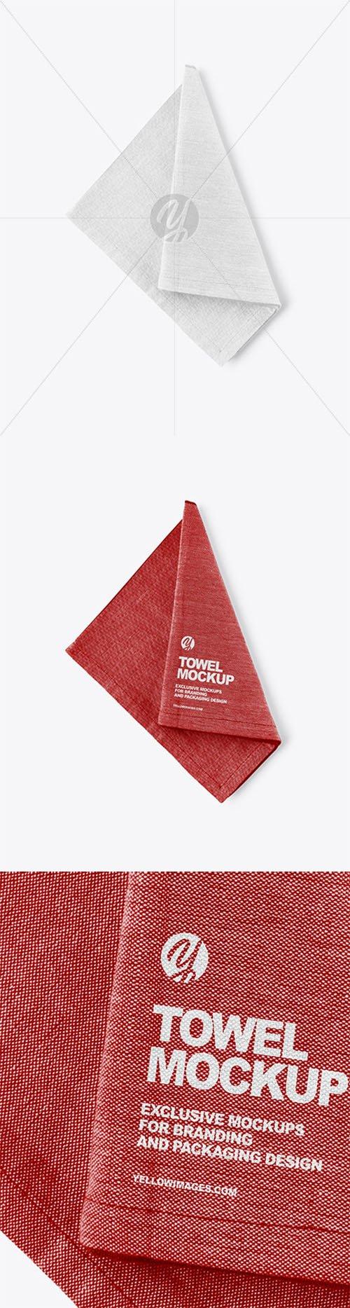 Kitchen Towel Mockup 63403 TIF