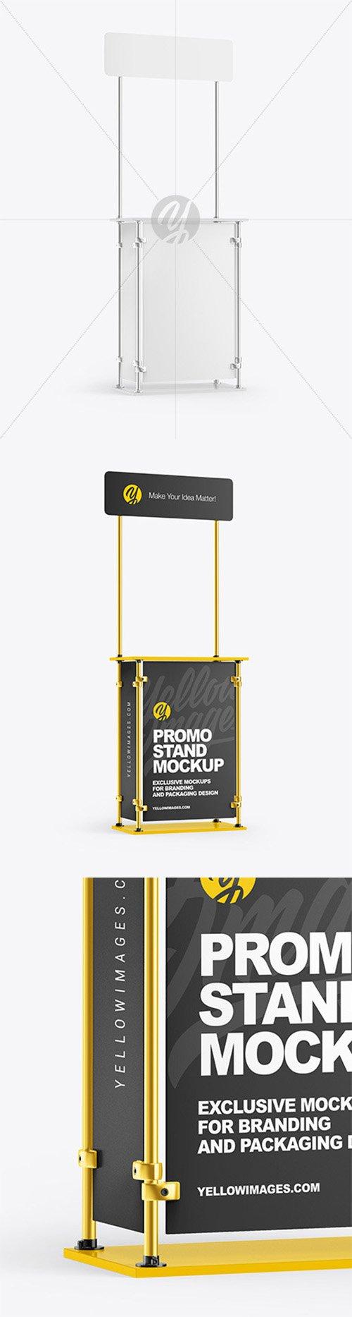 Metallic Promo Stand Mockup 63616 TIF