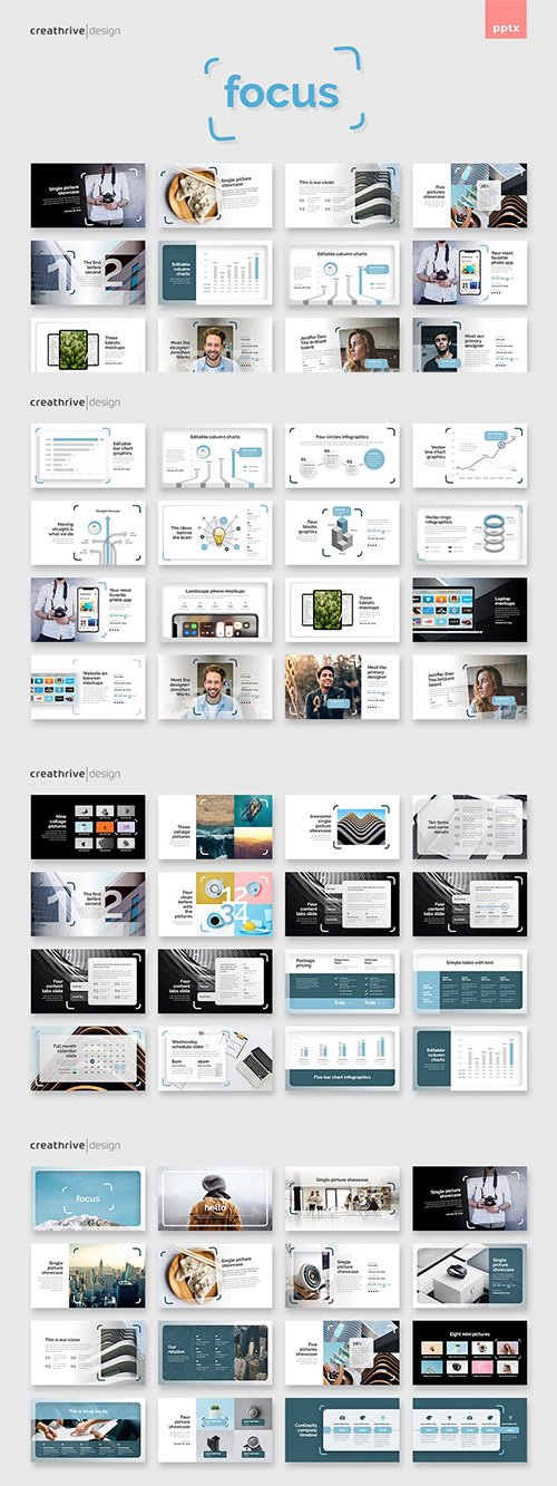 Focus PowerPoint and Keynote
