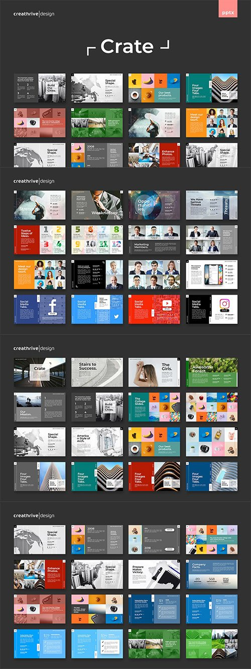 Crate PowerPoint and Keynote