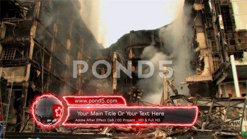 Fire Lower Third 92344016