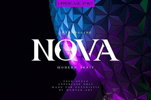 Nova | Future Font