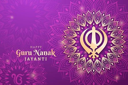 Traditional Realistic Guru Nanak