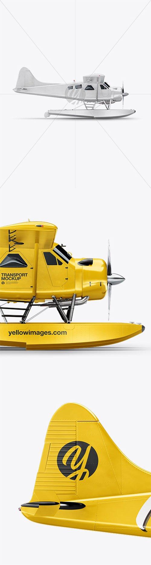 Seaplane Mockup - Side View 32716 TIF