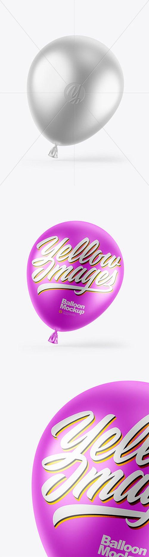 Metallic Balloon Mockup 62263