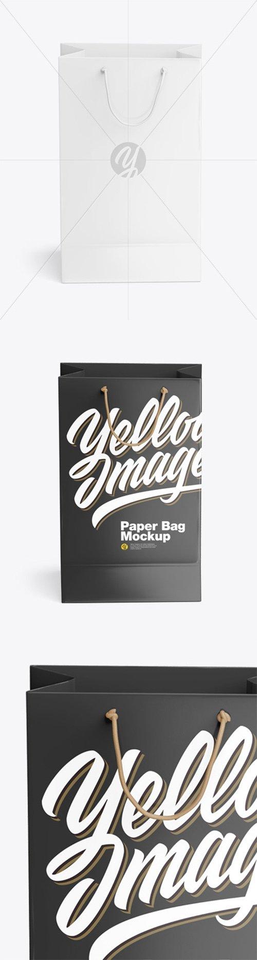 Glossy Shopping Bag Mockup 62168