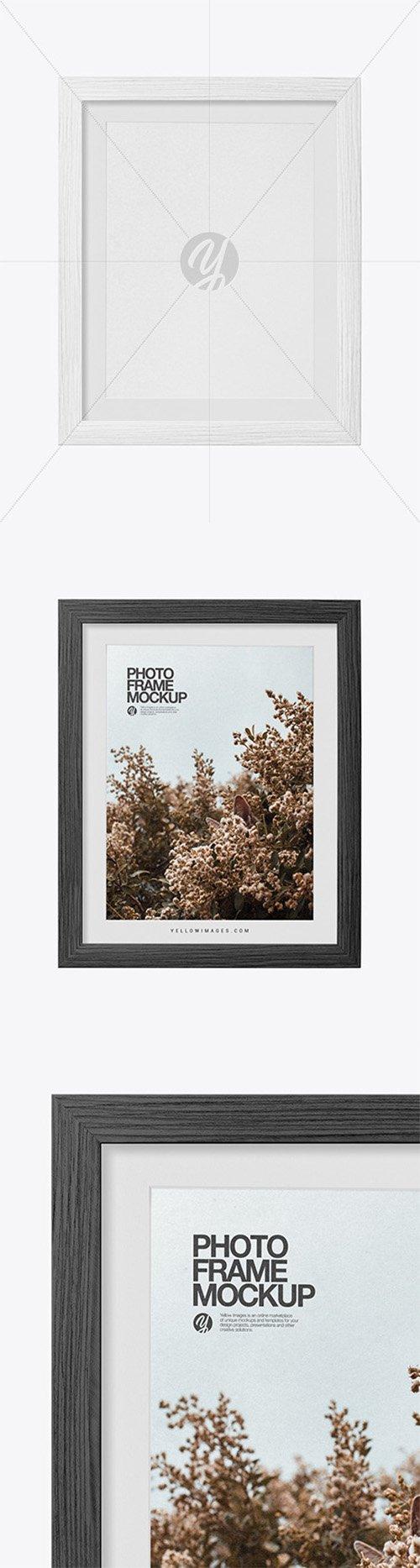 Textured Photo Frame Mockup 61002