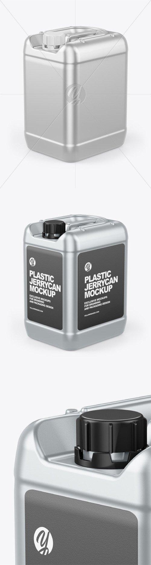 Metallic Jerrycan Mockup 65255