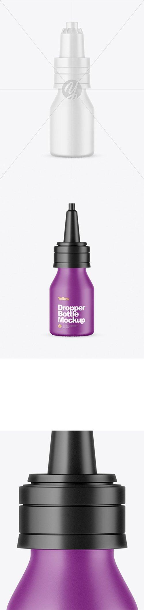 Matte Dropper Bottle Mockup 65609