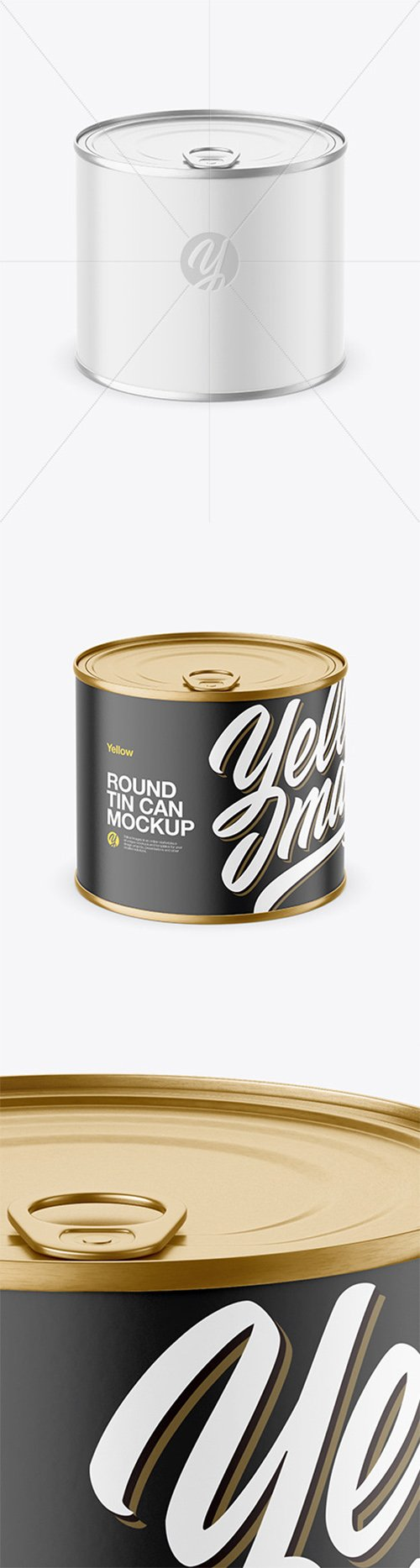 Round Tin Can Mockup 65617