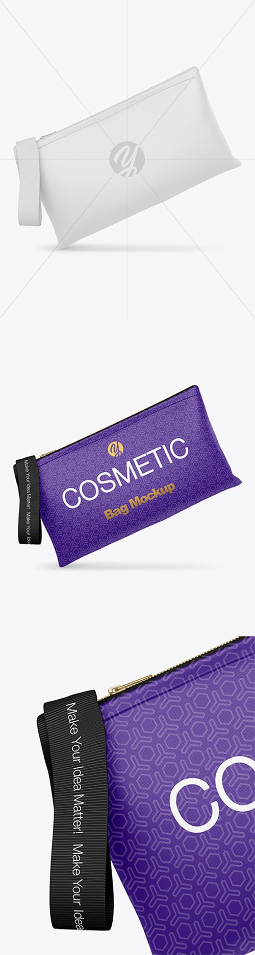 Cosmetic Bag Mockup 65602