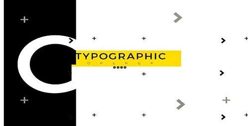 Typographic Opener 21252800