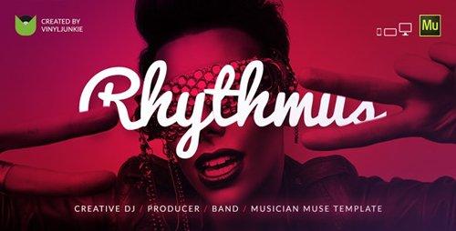 ThemeForest - Rhythmus v1.0 - Creative DJ / Producer / Musician Site Muse Template - 17508748