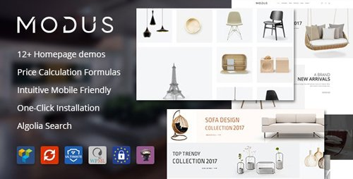 ThemeForest - Modus v1.6.0 - Modern Furniture WooCommerce Theme - 21278889