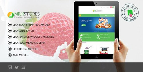 ThemeForest - Leo Milk v1.6.1.19 - Prestashop Theme - 8302487