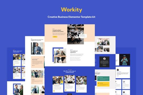 ThemeForest - Workity v1.0 - Creative Business Elementor Template kit - 28960338