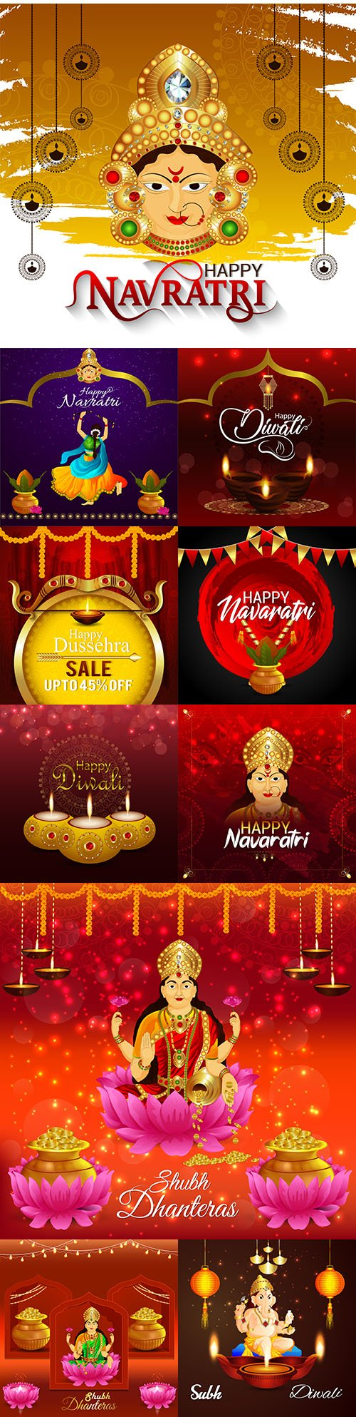 Beautiful abstract banner with discount sale traditional holiday