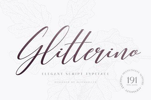 Glitterino - Stylish Script