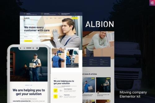 ThemeForest - Albion v1.0 - Moving Company Elementor Template Kit - 28962651