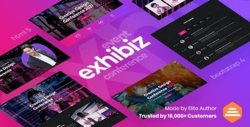 ThemeForest - Exhibiz v1.0 - Event, Conference and Meetup - 28663470