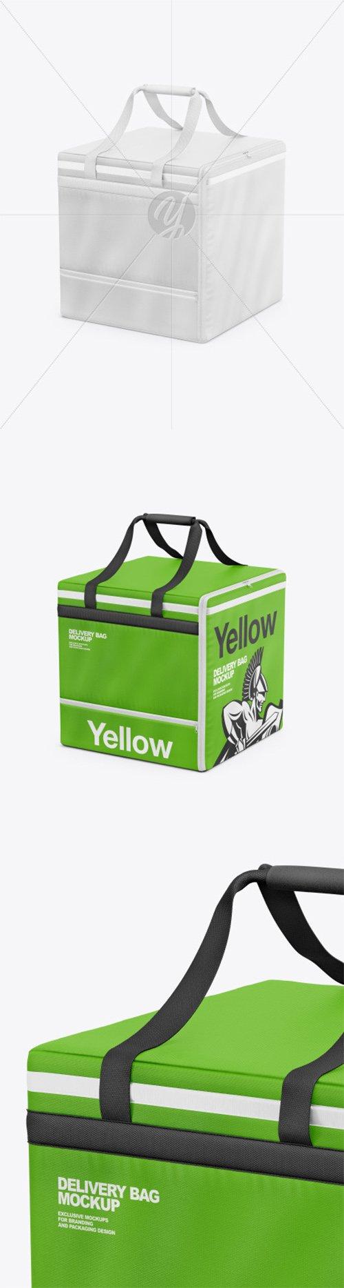 Polyester Delivery Bag Mockup 66538 TIF