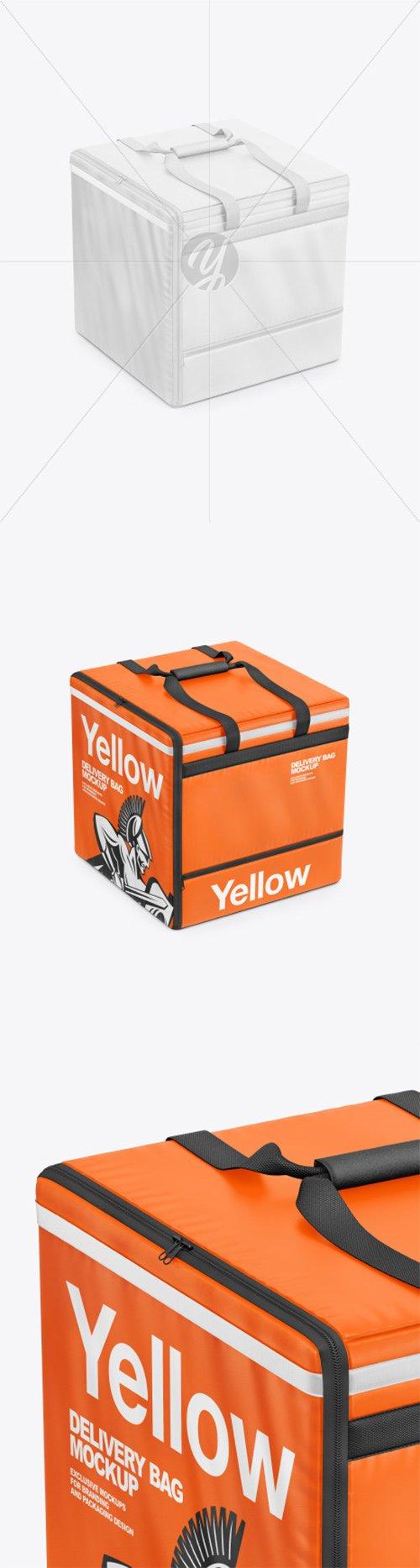 Vinyl Delivery Bag Mockup 66202 TIF