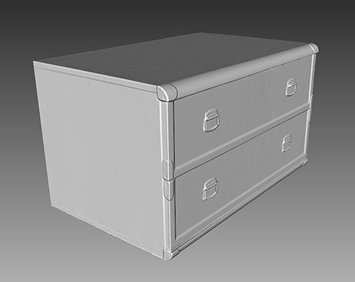Chest of Drawers - 3D Scan