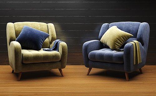 Studio Fabric Armchair