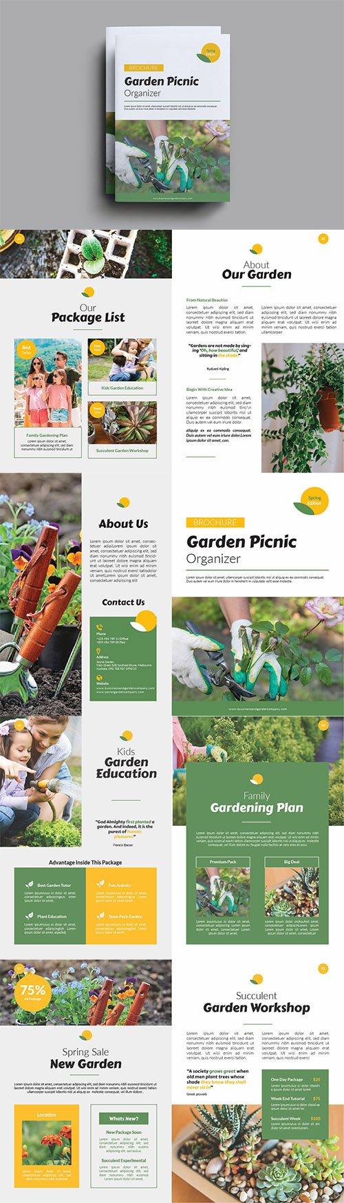 Garden Picnic Organizer Brochure