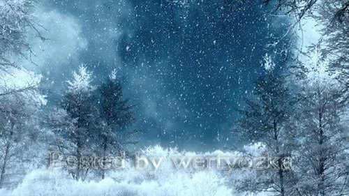 Videohive - Winter Background Loops -  25300102