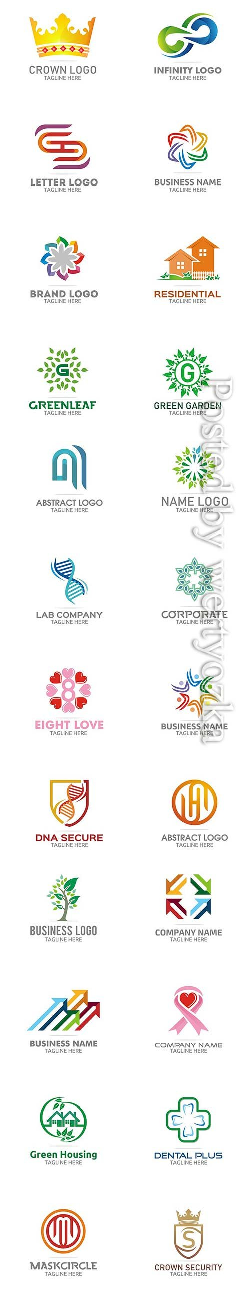 28 Modern Color Logo Designs