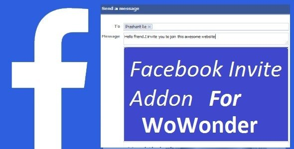 CodeCanyon - Facebook Invite Addon For WoWonder v1.0 (Update: 29 May 20) - 15427337