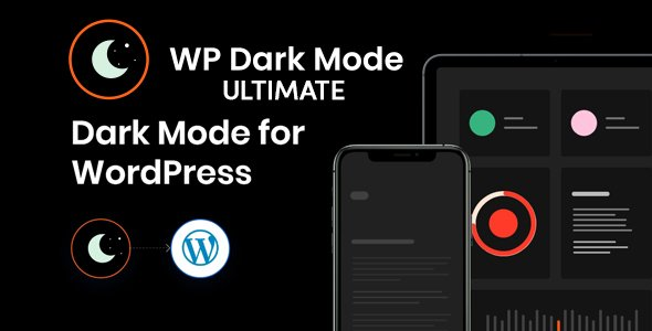 WP Dark Mode Ultimate v1.1.2 - WordPress Dark Or Light Mode Plugin - NULLED