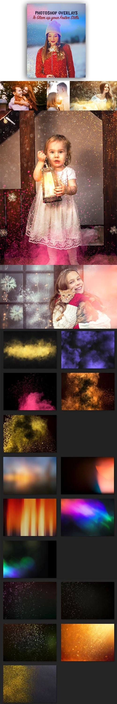 Photoshop Overlays for Holidays & Special Days