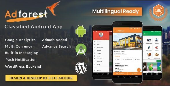 CodeCanyon - AdForest - Classified Native Android App v3.2 - 20963101 - NULLED