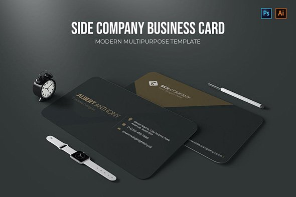 Side Company - Business Card