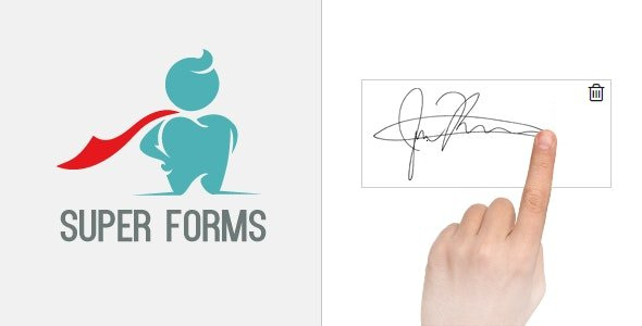 CodeCanyon - Super Forms - Signature Add-on v1.6.2 - 14879944