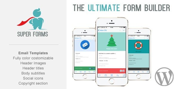 CodeCanyon - Super Forms - Email Templates Add-on v1.1.2 - 14468280