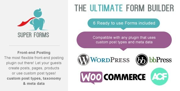 CodeCanyon - Super Forms - Front-end Posting Add-on v1.5.1 - 17092502